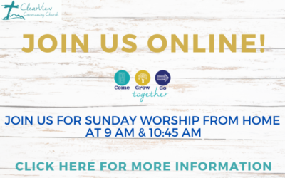 JOIN US THIS MORNING! Important info for church livestream