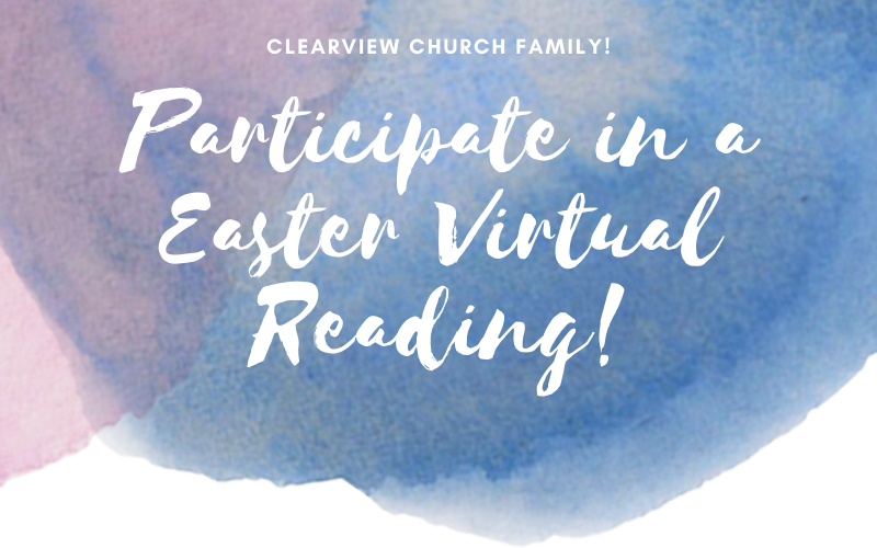Easter Virtual Reading
