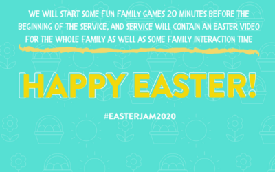 Family Easter Activity – Easter Jam 2020