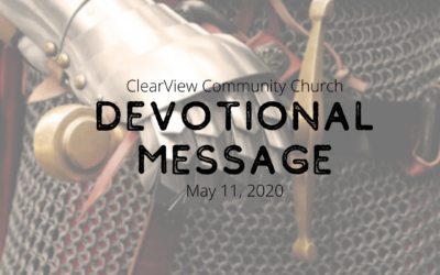 Devotional Message – May 11, 2020