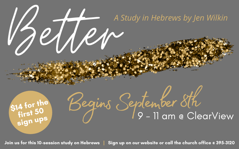 BETTER – Fall Women's Bible Study