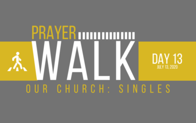 PRAYER WALK – DAY 13