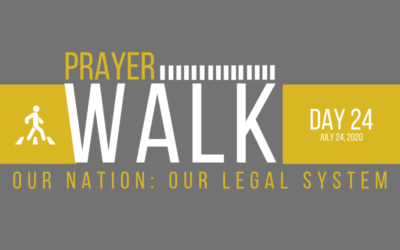 PRAYER WALK – DAY 24