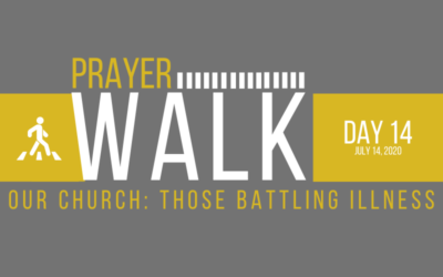 PRAYER WALK – DAY 14