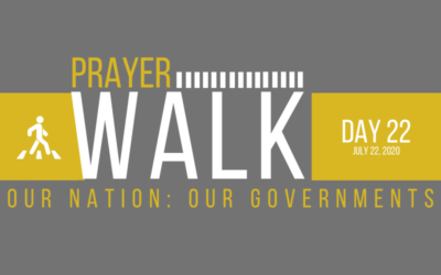 PRAYER WALK – DAY 22