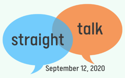 """Straight Talk"" Interview – September 12, 2020"