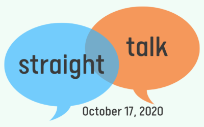 """Straight Talk"" Interview – October 17, 2020"