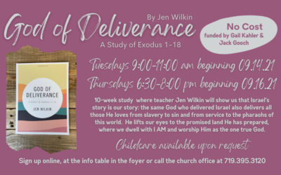 God of Deliverance – Women's Fall Bible Study